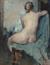 Herman Albert Gude Vedel, Nude female model (study)