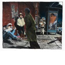 James Romberger, Untitled (Street scene)