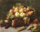 Alexis Kreyder, A still life with fruit