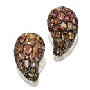 Marilyn Cooperman, Paisley brooches (pair)