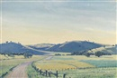 Elioth Gruner, Hills of Northam