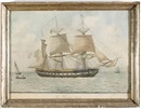 "Nicholas Cammillieri, The French barque ""La Persane"""