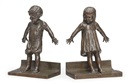 Abastenia St. Leger Eberle, Hide and seek bookends (pair)