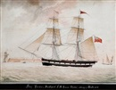 "Nicholas Cammillieri, The brig ""Forster of Hartlepool"" in storm (+ The brig ""Forster of Hartlepool"" in calm; pair)"
