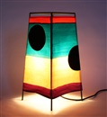 Mary Heilmann, Pyramid lamp