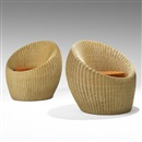 Isamu Kenmochi, Lounge chairs (pair)