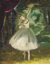 Doris Clare Zinkeisen, The ballerina