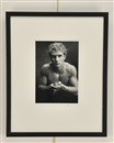 Duane Michals, Blond boy with frog
