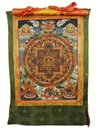 Anonymous-Tibetan, Mandala of the five Dhyani Buddhas