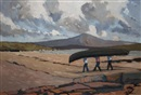 Alex McKenna, Achill Island looking towards Croagh Patrick