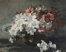 Frieda Menshausen-Labriola, Still life of flowers