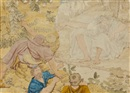 Richard Dadd, Polyphemus (sketch)