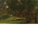 Martin Johnson Heade, Country bridge