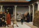 Sir Lawrence Alma-Tadema, Education of the children of Clovis (School of vengeance, training of Clotilde's sons)