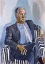 Alice Neel, Portrait of Robert Graham