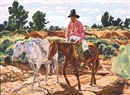 Walter Ufer, The white pack