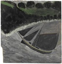 Alfred Wallis, A fishing boat off the coast