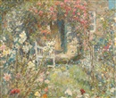 Frederick William Jackson, The cottage garden