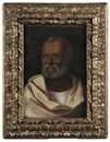 Follower Of Giovanni Bellini, Bearded man (Saint Peter?)