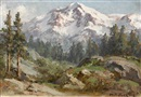 William Franklin Jackson, Mountain scene