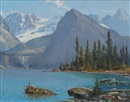Duncan MacKinnon Crockford, Lake O'Hara and Mount Yukness