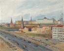 Alexandre Arkadevich Labas, View of the Kremlin