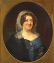 Anglo-Irish School (19), Portrait of Lady Elizabeth Pack