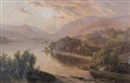 Edward Henry Holder, Untitled (Mountain scene) (+ another; pair)