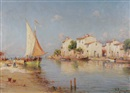 Vincent Monago, Mediterranean fishing village