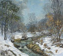 Edward Willis Redfield, Melting snows