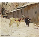 Manly Edward MacDonald, Calves in the snow