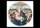 Sandro Botticelli, Madonna and eight angels