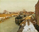 Edward Willis Redfield, Canal at Lambertville