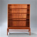 Johan Hagen, Bookcase and low bench/stand