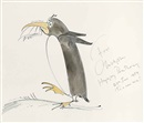 Gerald Scarfe, The busy penguin