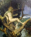 Theodor Baierl, Nymph in a tree