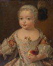 Attributed To Pierre Gobert, Portrait d'enfant