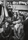 "Walter Zadek, German-Jewish refugees on board the ship ""Parita"" as it arrived in Palestine (+ 6 others; 7 works)"