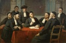 Edouard Moyse, A meeting of the rabbinical council