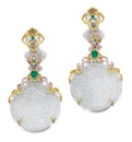 Michael Youssoufian, A pair of pendant earrings