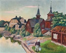 Marcus Collin, View of Fagervik