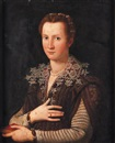 Follower Of Alessandro di Cristofano Allori, Portrait de femme