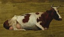 Otto Bache, Cow in the field