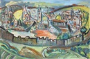 David Messer, View of Jerusalem