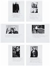 Duane Michals, Who is Sidney Sherman? (set of 6)