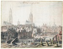 Attributed To Daniel Vosmaer, View of Delft after the explosion of 1654