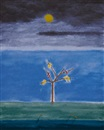 Craigie Aitchison, Birds on a tree