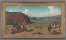 Reveau Mott Bassett, End of day, Palo Duro Canyon (The wagon)
