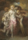 Marie-Abraham Rosalbin de Buncey, Venus and an entourage of sibyls