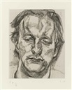 Lucian Freud, Head of a man
